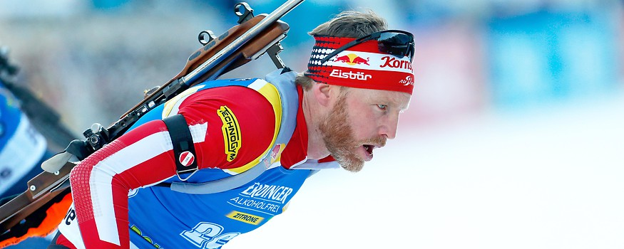 Biathlet Simon Eder