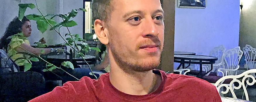 Der österreichische Journalist Max Zirngast