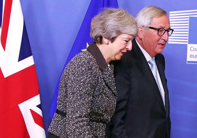 Theresa May und Jean-Claude Juncker