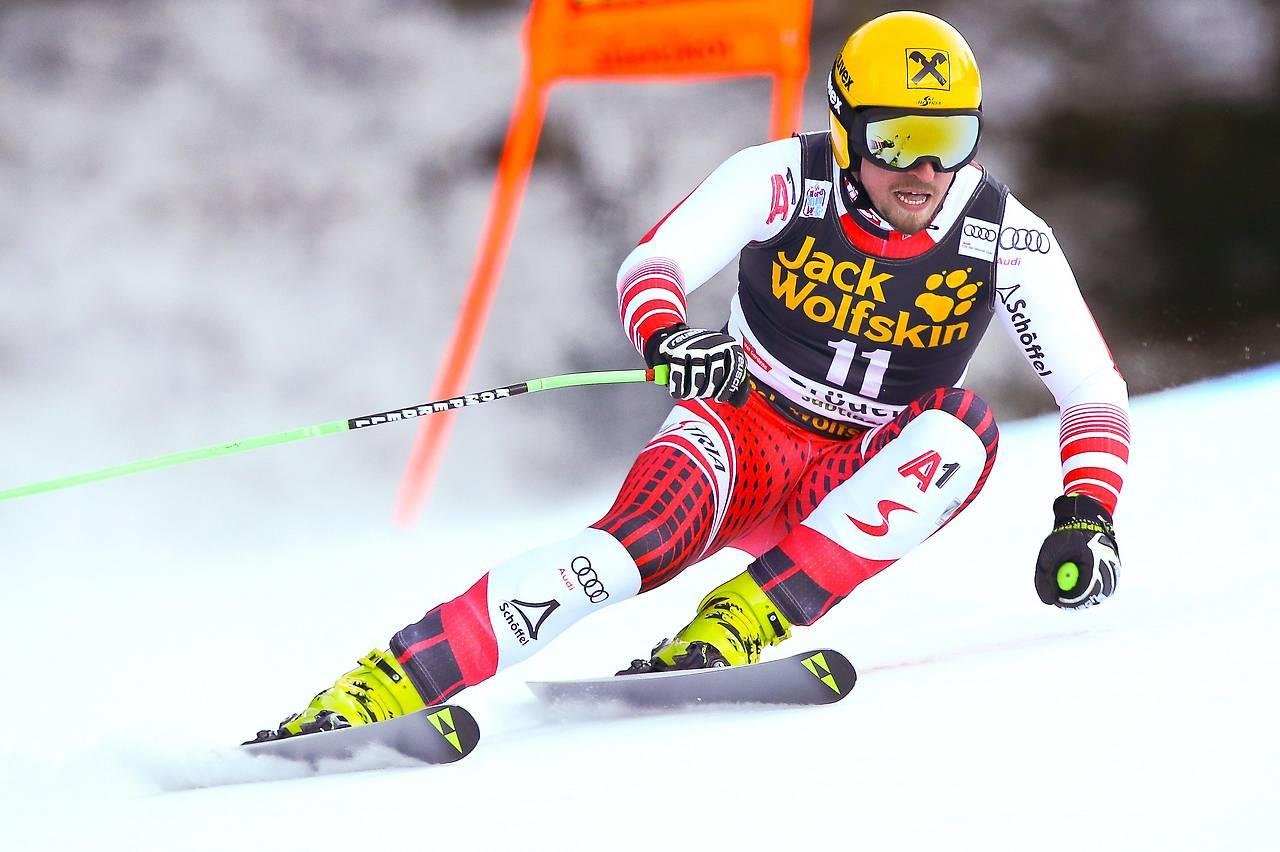 Skifahrer Max Franz