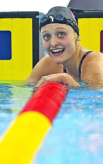 Schwimmerin Caroline Pilhatsch