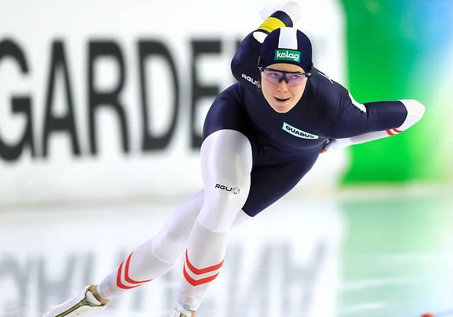 Eisschnelläuferin Vanessa Herzog