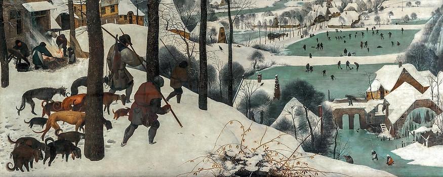 Pieter Bruegel d. Ä.: Die Jäger im Schnee