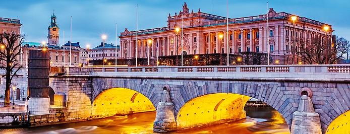 Riksdag in Stockholm