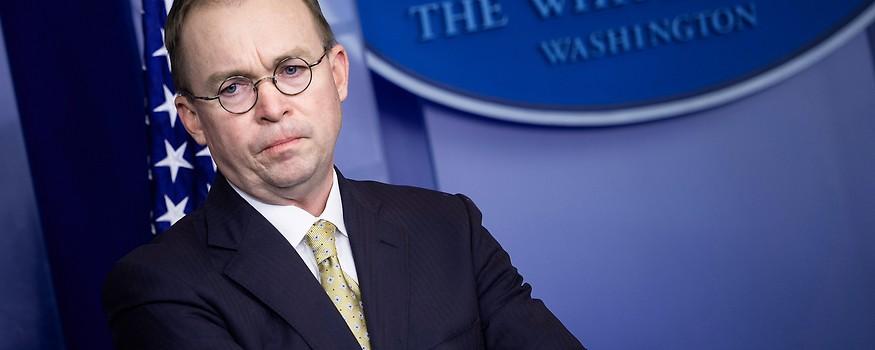 Der bisherige US-Budgetchef Mick Mulvaney