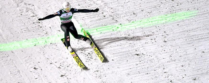 Skispringer Daniel Huber