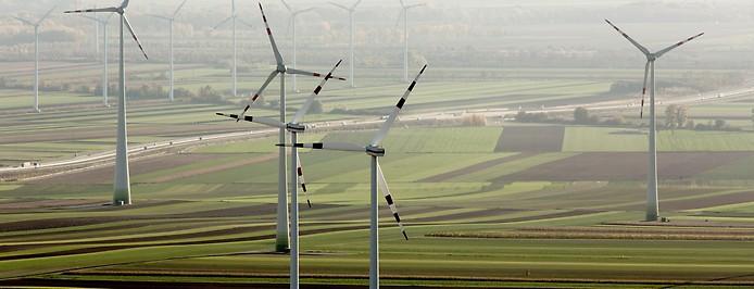 Windräder im Burgenland