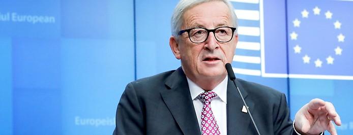 Präsident der Europäischen Kommission Jean-Claude Juncker