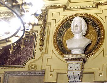Restaurierte Prunkräumlichkeiten der Staatsoper
