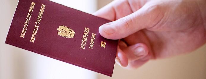Reisepass der Republik Österreich