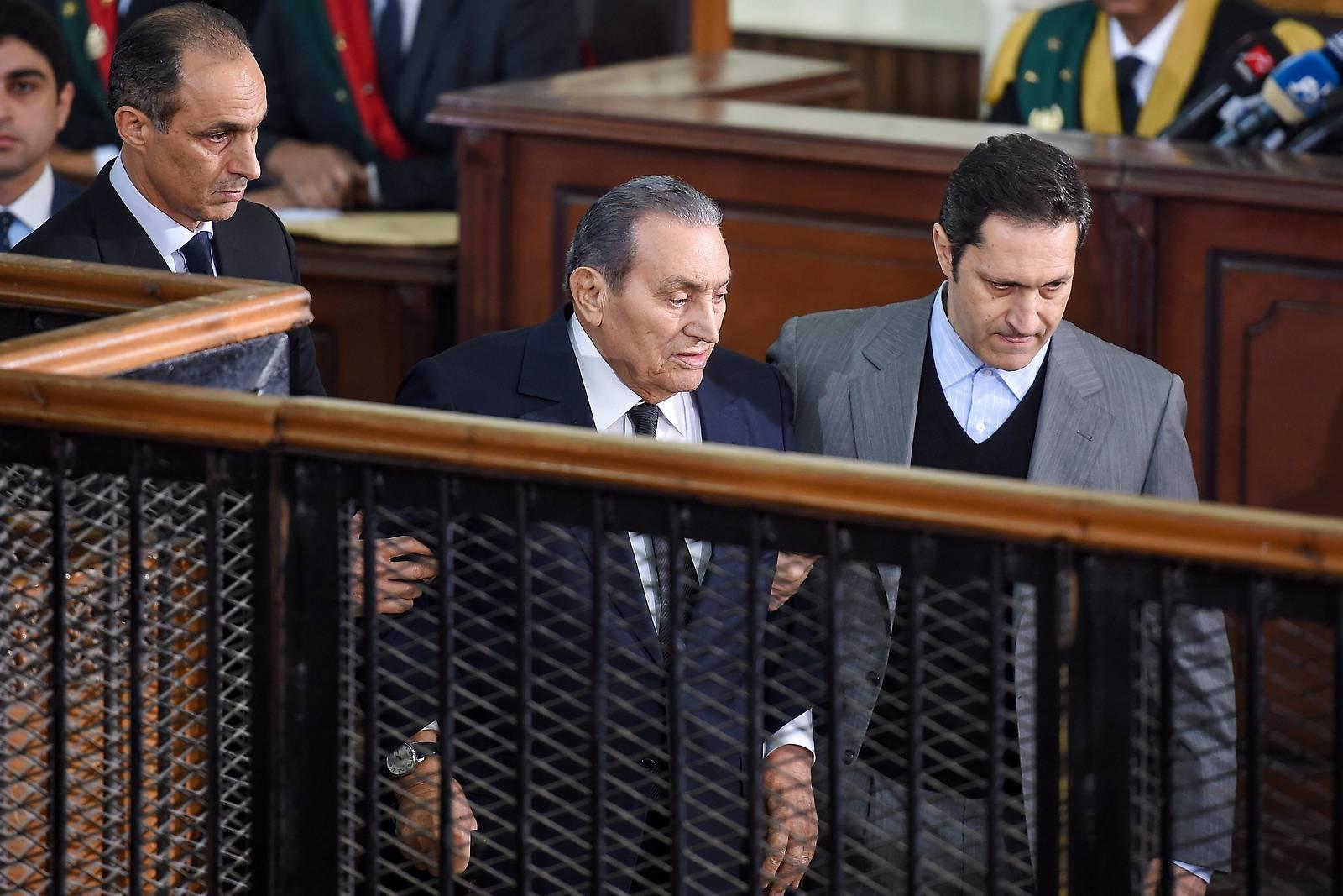 Ägyptens Ex-Präsidenten: Mubarak sagt gegen Mursi aus