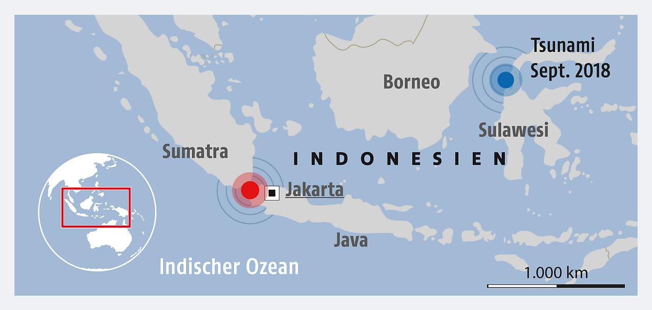 tsunami ohne vorwarnung mehr als 370 tote in indonesien. Black Bedroom Furniture Sets. Home Design Ideas