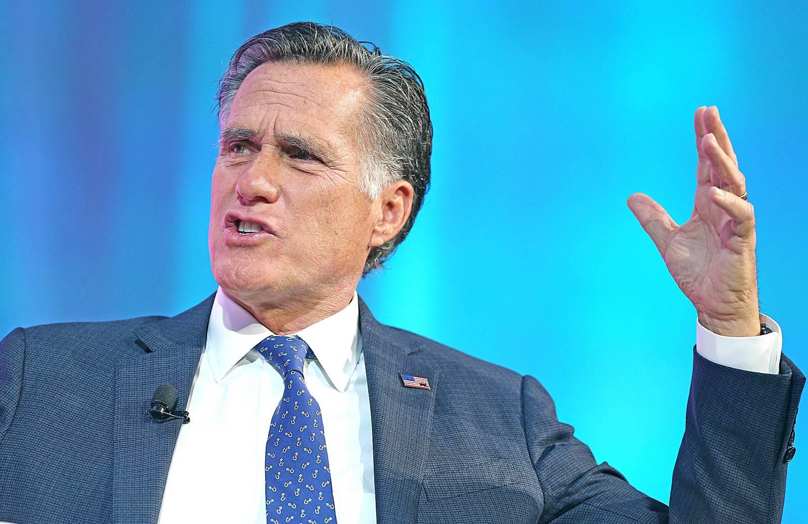 """Harte Romney-Kritik an Trump: """"Wird Amt nicht gerecht"""""""