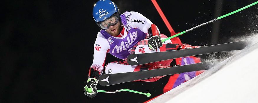 Skifahrer Marco Schwarz (AUT)