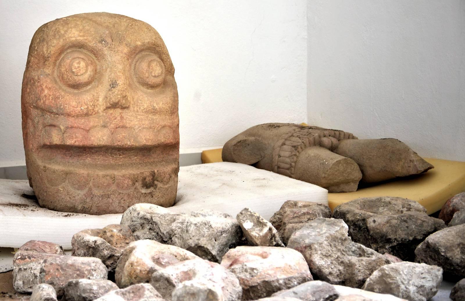 Gottheit in Mexiko wurde mit Häutungen geehrt