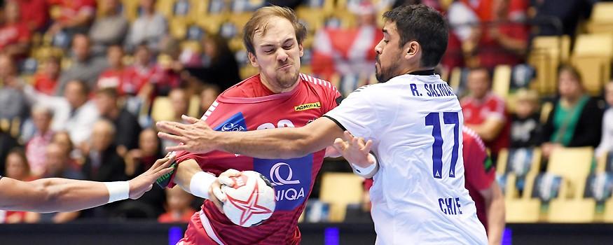 Rodrigo Salinas (Chile) gegen Gerald Zeiner (Österreich)