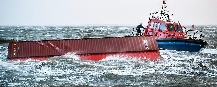 Container der MSC Zoe werden geborgen