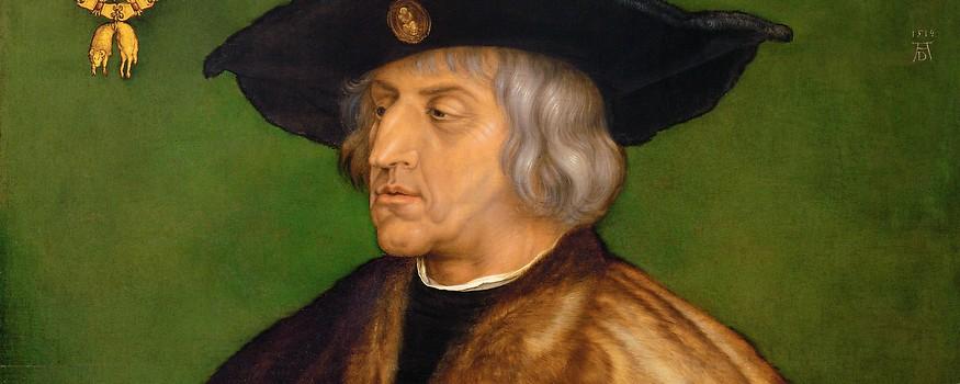 Kaiser Maximilian gemalt von Albrecht Dürer