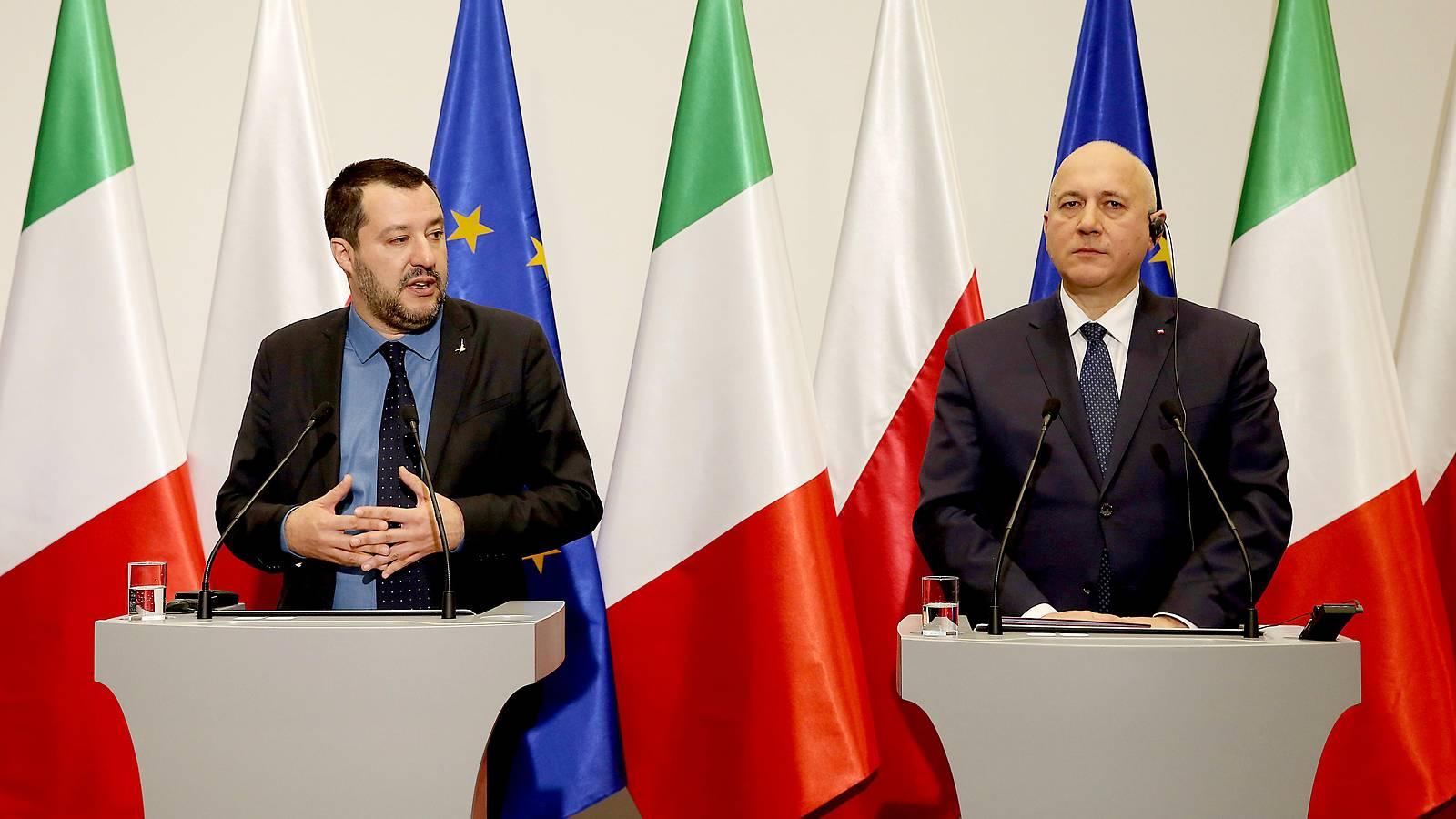 """Salvini beschwört in Polen """"neuen europäischen Frühling"""""""