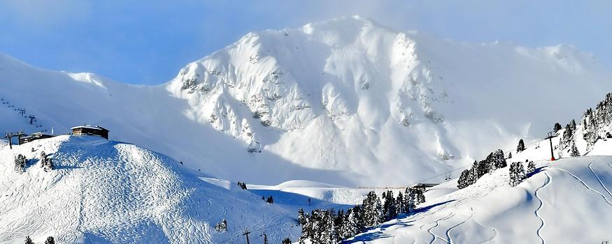 Die Schneesituation am Freitag, 11. Jänner 2019, im Skigebiet Obertauern