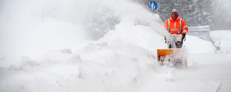 Schneeräumung in Vordernberg