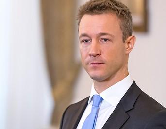 EU-Minister Gernot Blümel