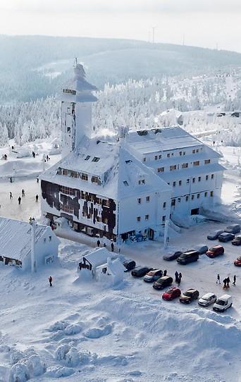 Schnee in Oberwiesenthal