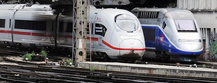ICE neben TGV