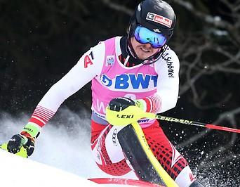Slalomfahrer Manuel Feller