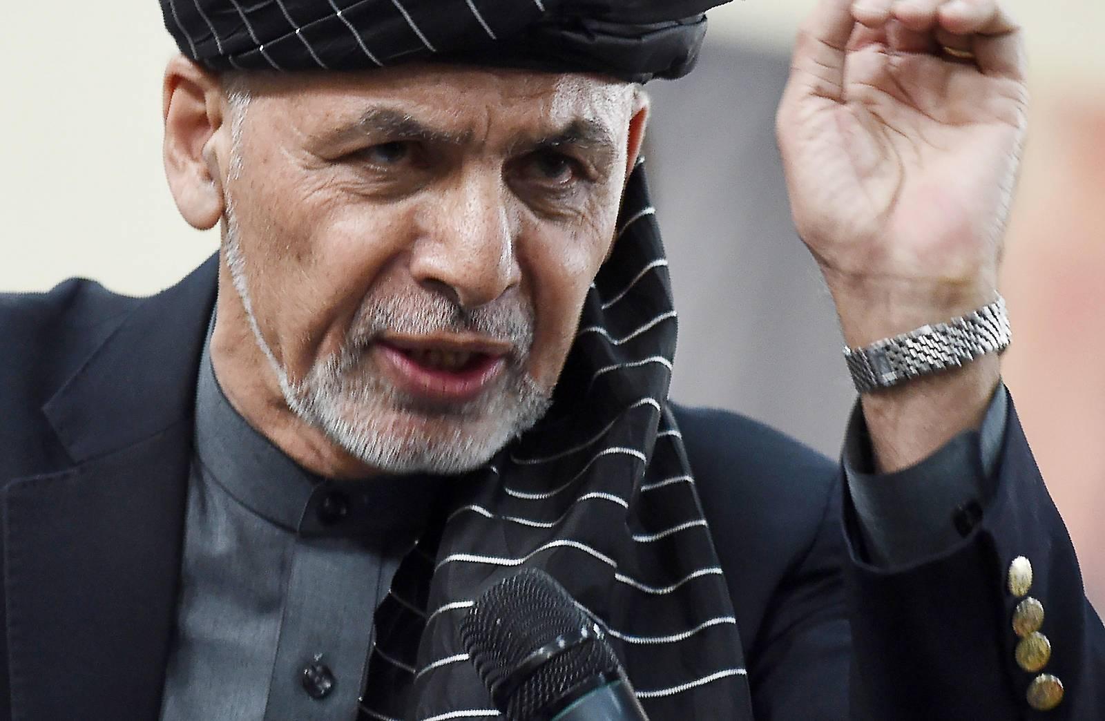 Afghanischer Präsident für Gespräche mit Taliban