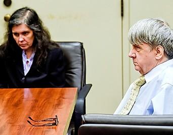 Louise und David Turpin im Gerichtssaal