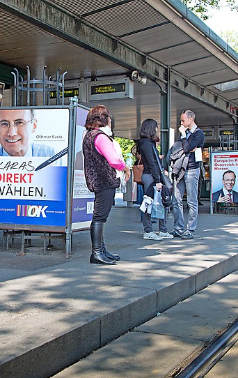 Plakate zur EU-Wahl 2014