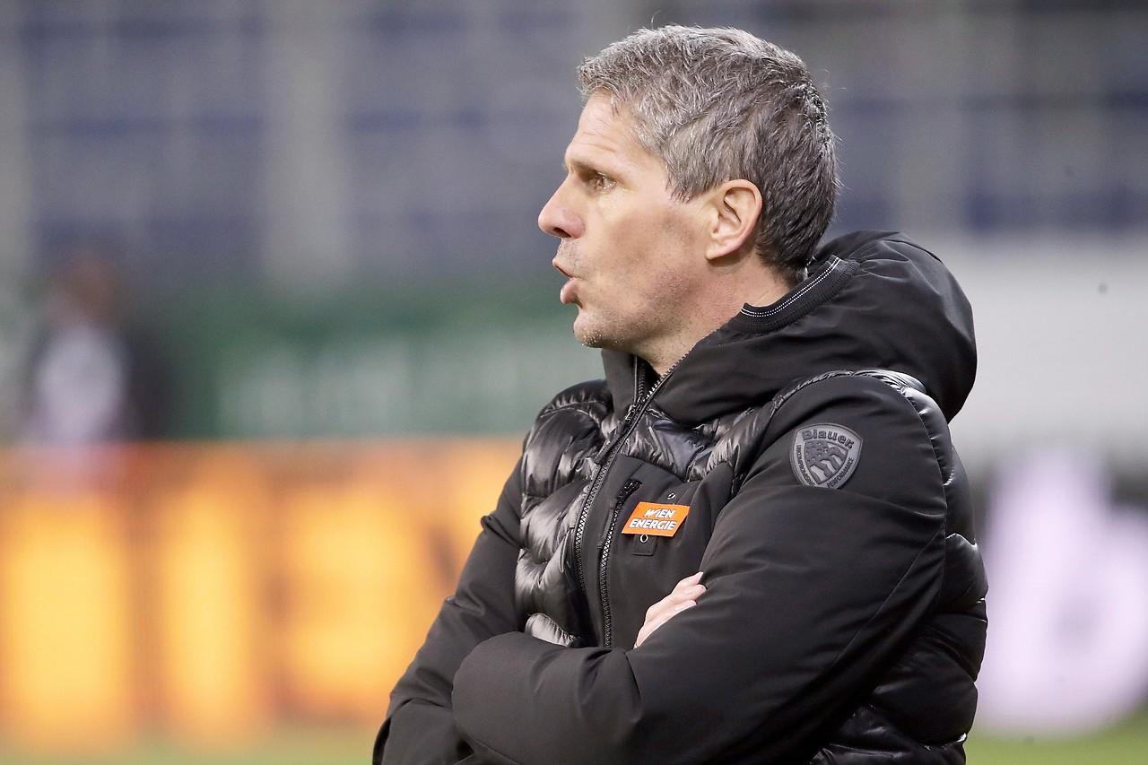 Rapid-Trainer Dietmar Kuehbauer
