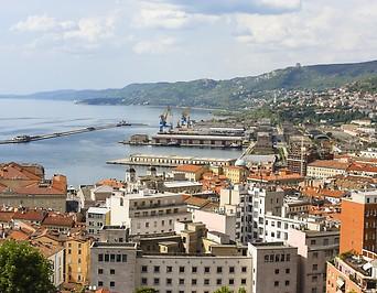 Hafen von Triest (Italien)