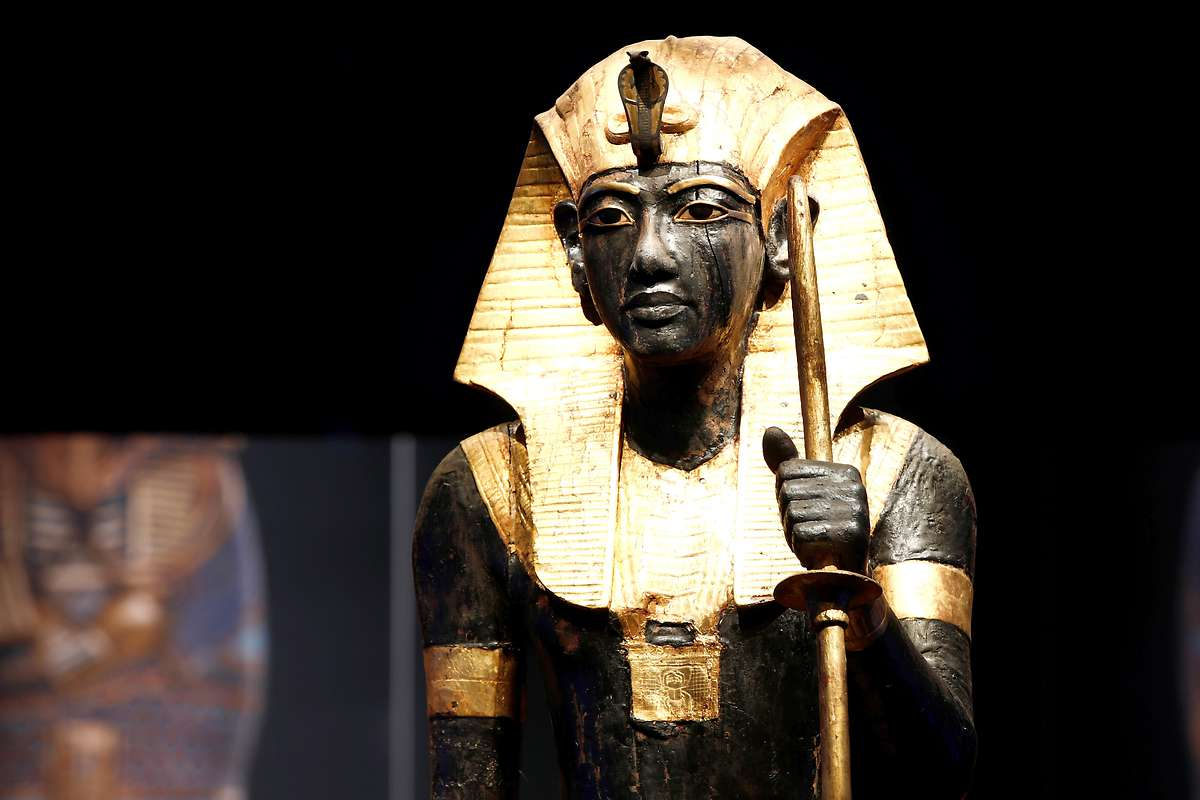 Große Tutanchamun-Schau in Paris eröffnet