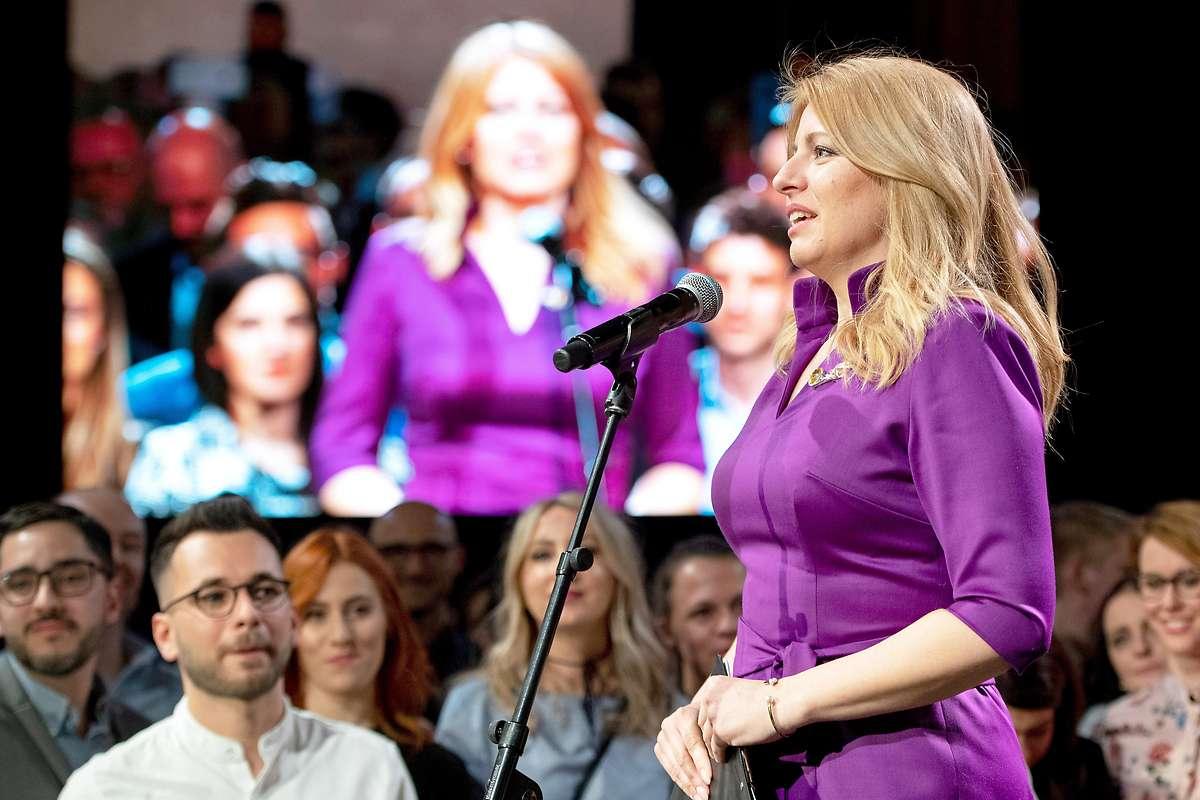 Liberale Caputova wird erste Präsidentin der Slowakei