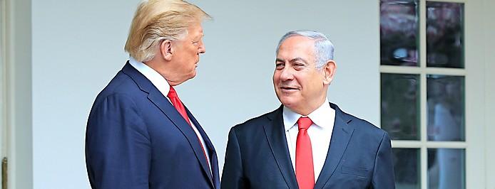 Der israelische Premierminister Benjamin Netanjahu und US-Präsident Donald Trump