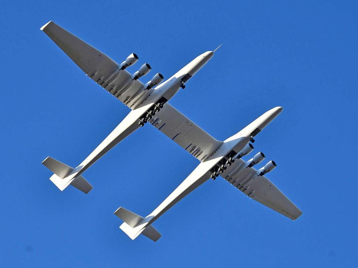 Weltgrößtes Flugzeug absolvierte ersten Testflug
