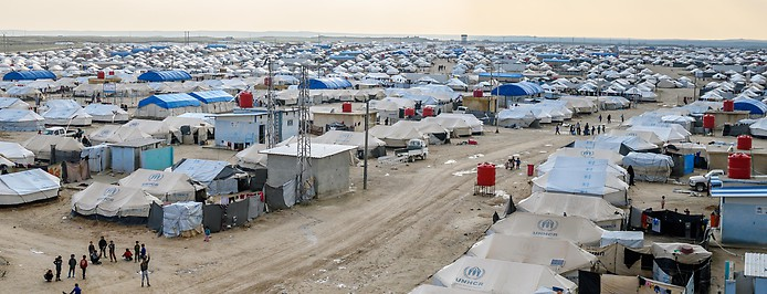 Camp in Syrien