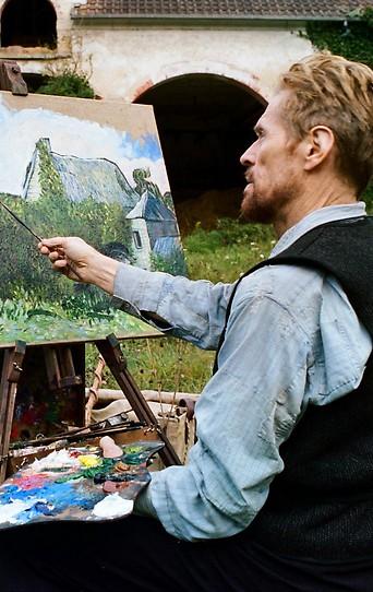 """Szene aus dem Film """"Van Gogh – An der Schwelle zur Ewigkeit"""""""
