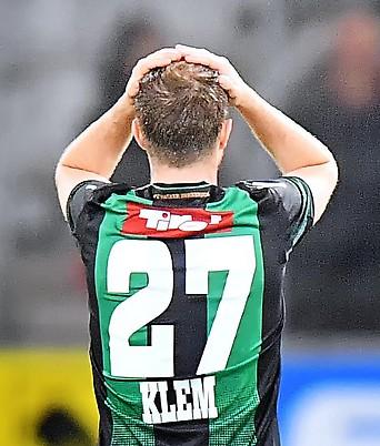 Rückenansicht von Christian Klem (Wacker)
