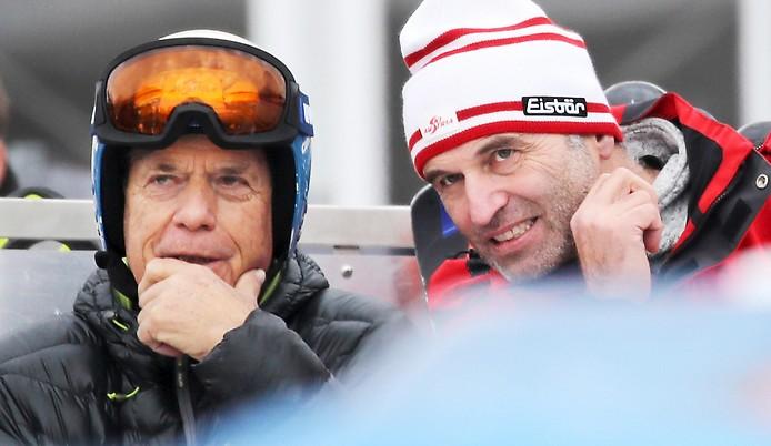 Peter Schröcksnadel und Anton Giger