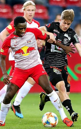 Szene aus dem Match Salzburg gegen WAC