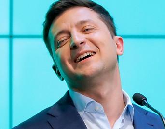 Der designierte Präsident der Ukraine, Wolodymyr Selenski
