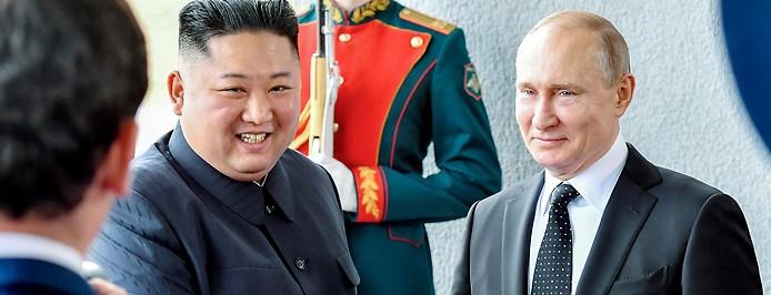 Kim Jong Un, Wladimir Putin