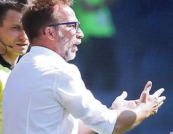 Sturm-Coach Roman Maehlich und Dario Maresic