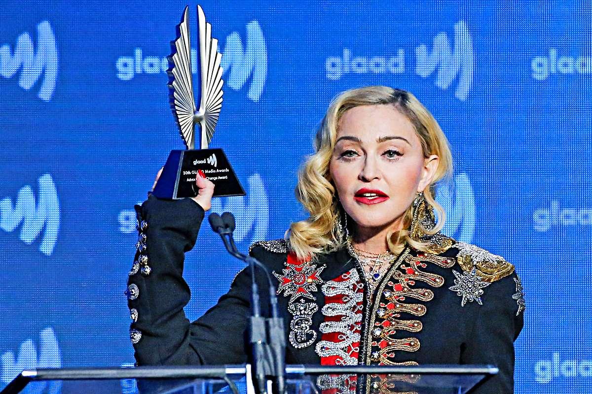 Madonna für schwul-lesbisches Engagement ausgezeichnet