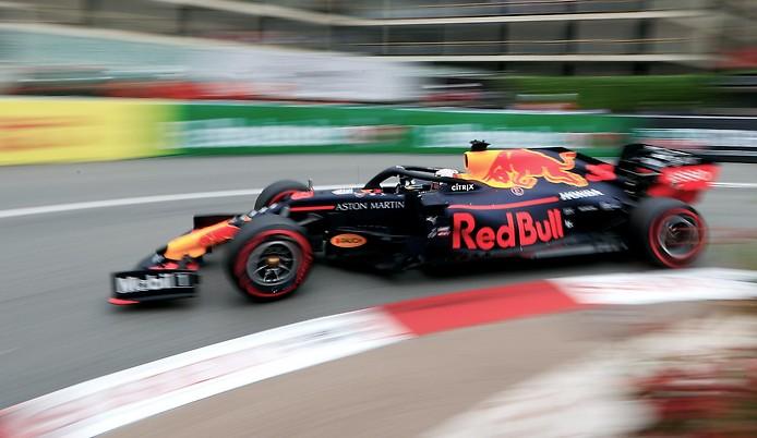 Max Verstappen im Wagen von Red Bull Racing