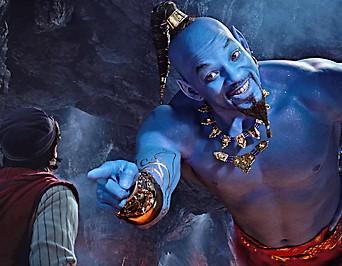 "Szene des Films ""Aladdin"""