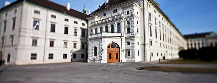 Präsidentschaftskanzlei in Wien